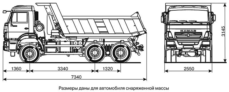 Схема КАМАЗ 65111