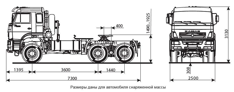Подробное техническое описание КАМАЗ-65225