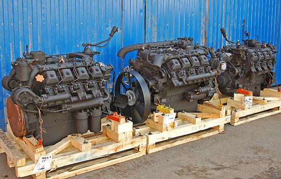 Двигатели КАМАЗ на складе в