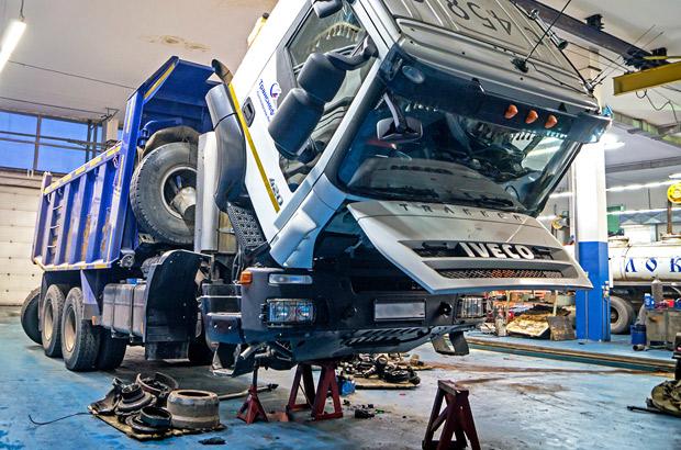 Ремонт грузовых автомобилей в Красноярске - качественный автосервис