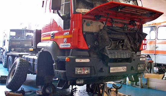 грузовиков ремонт авто